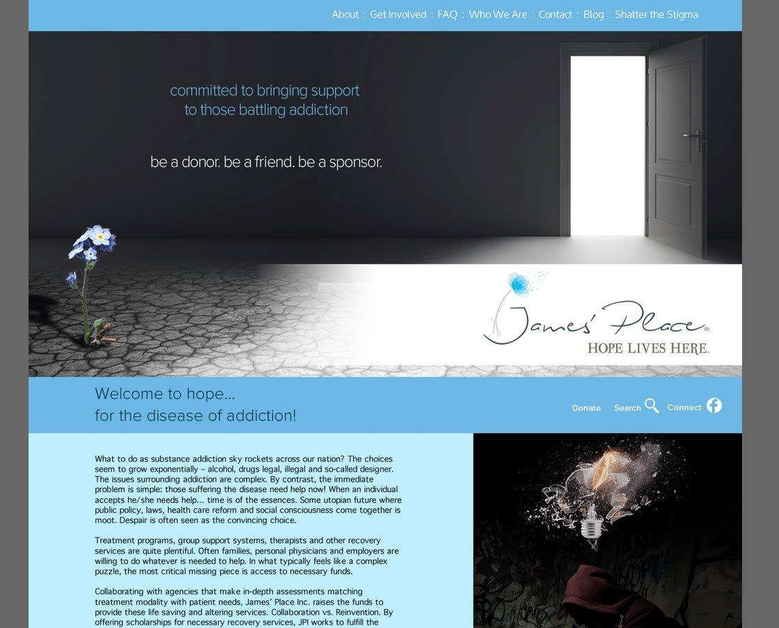 James Place / Shatter the Stigma Website