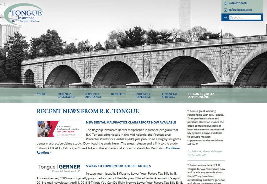 R.K. Tongue Insurance