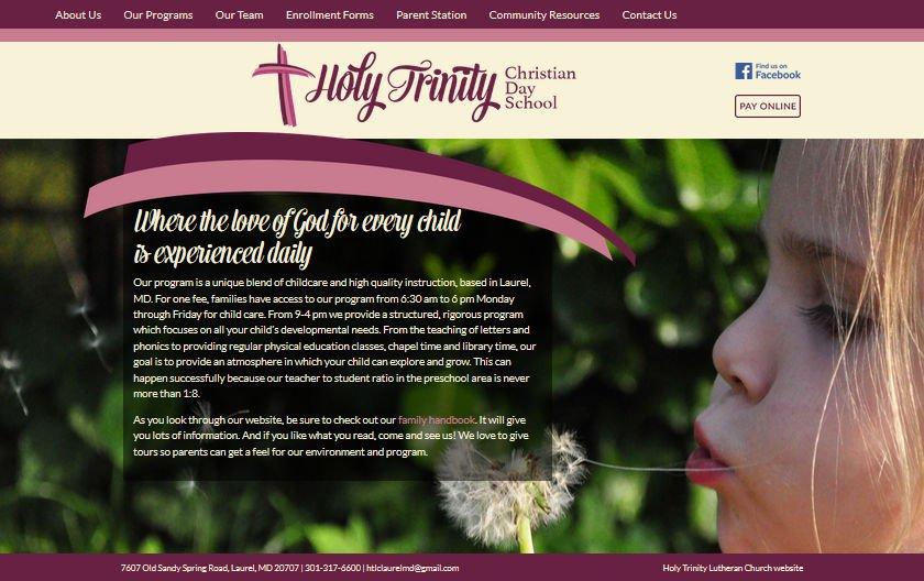 Holy Trinity Christian Day School